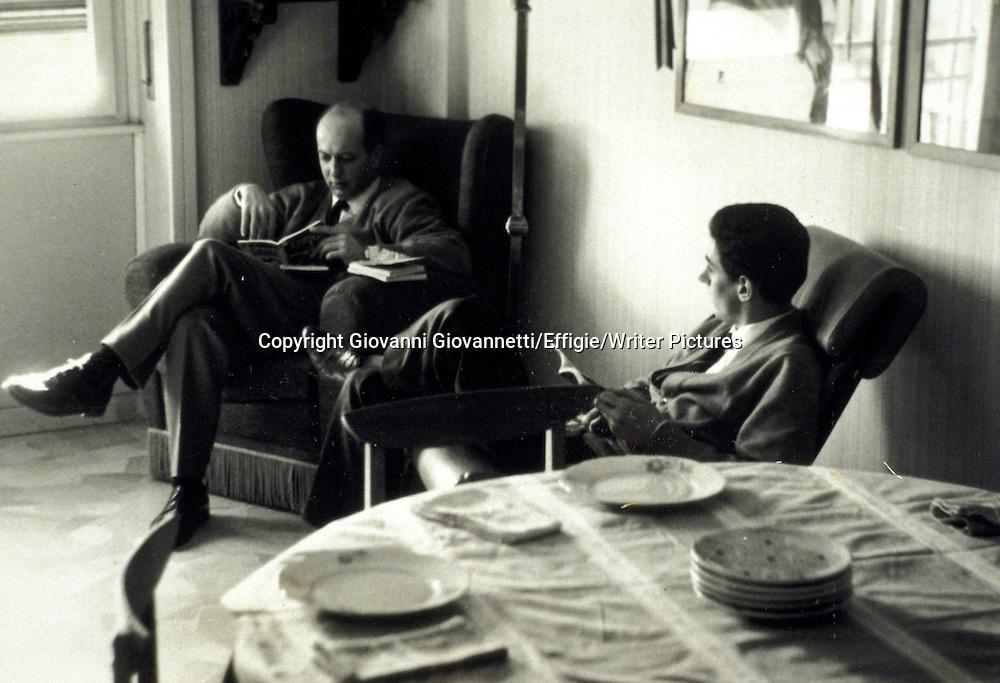 CESARANO GIORGIO CON CAVALLI ALLA RIZZOLI NEL 66<br /> <br /> <br /> 09/05/2003<br /> Copyright Giovanni Giovannetti/Effigie/Writer Pictures<br /> NO ITALY, NO AGENCY SALES