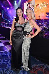 Left to right, LILY BECKER and TAMARA BECKWITH at the Caudwell Children's annual Butterfly Ball held at The Grosvenor House Hotel, Park Lane, London on 15th May 2014.