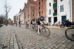 Grace Garner (GBR) at Healthy Ageing Tour 2018 - Stage 5, a 94.3 km road race in Groningen on April 8, 2018. Photo by Sean Robinson/Velofocus.com