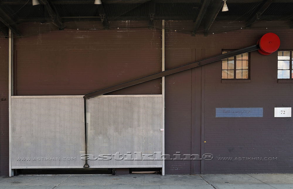 Guillotine Door in Manhattan