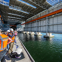 Nederland, Rotterdam, Maasvlakte, 23 september 2016.<br /> Sif Roermond bouwt nieuwe assemblagefabriek op Maasvlakte.<br /> Sif Group is leidend in offshore funderingen voor windturbines en olie- en gasplatformen.<br /> <br /> The Netherlands, Rotterdam, Maasvlakte, September 23 2016.<br /> Sif Roermond builds a new assembly plant at Maasvlakte.<br /> Sif Group is leading in offshore foundations for wind turbines and oil & gas platforms. <br /> <br /> Foto: Jean-Pierre Jans