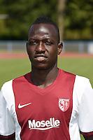 Fadil SIDO - 01.08.2014 - Photo Officielle de Metz -<br /> Photo : Fred Marvaux / Icon Sport