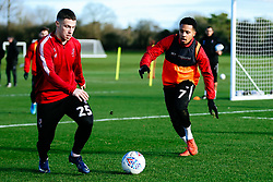 Tommy Rowe and Korey Smith of Bristol City - Rogan/JMP - 03/12/2019 - Failand - Bristol, England - Sky Bet Championship.