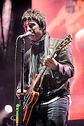 "Oasis performs in support of ""Dig Out Your Soul"" at Madison Square Garden in New York City on December 17, 2008"