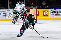 KELOWNA, CANADA - NOVEMBER 6:  on NOVEMBER 6, 2013 at Prospera Place in Kelowna, British Columbia, Canada.   (Photo by Marissa Baecker/Shoot the Breeze)  ***  Local Caption  ***