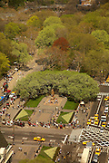 View of Grand Army Plaza from 721 Fifth Avenue, #30G
