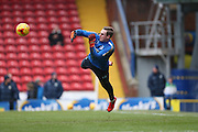 Brighton goalkeeper, David Stockdale (13) during the Sky Bet Championship match between Blackburn Rovers and Brighton and Hove Albion at Ewood Park, Blackburn, England on 16 January 2016.