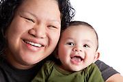 NicoGiovanni Doiy and Caroline Doiy, Mother and son portrait.