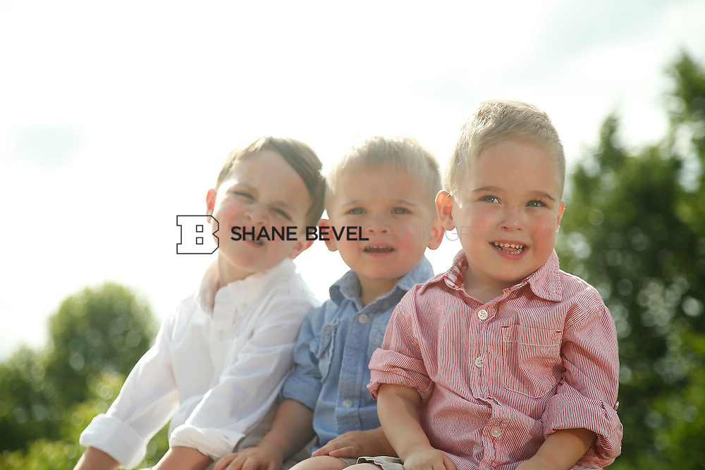 5/28/15 5:39:32 PM -- Miracle Miles and his family pose for portraits and play at the QuikTrip park for the 2015 Saint Francis Health System advertising campaign. <br /> <br /> Photo by Shane Bevel