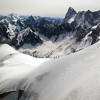 Aiguille du Midi.<br /> Chamonix, France.