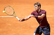 Andrey Kuznetsov during the Madrid Open at Manzanares Park Tennis Centre, Madrid<br /> Picture by EXPA Pictures/Focus Images Ltd 07814482222<br /> 02/05/2016<br /> ***UK &amp; IRELAND ONLY***<br /> EXPA-ESP-160502-0091.jpg