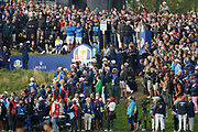 Tommy Fleetwood (Eng) during the friday morning fourballs session of Ryder Cup 2018, at Golf National in Saint-Quentin-en-Yvelines, France, September 28, 2018 - Photo Philippe Millereau / KMSP / ProSportsImages / DPPI