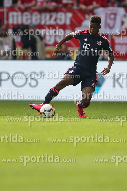 26.09.2015, Coface Arena, Mainz, GER, 1. FBL, 1. FSV Mainz 05 vs FC Bayern Muenchen, 7. Runde, im Bild Kingsley Coman (FC Bayern Muenche #29) // during the German Bundesliga 7th round match between 1. FSV Mainz 05 and FC Bayern Munich at the Coface Arena in Mainz, Germany on 2015/09/26. EXPA Pictures &copy; 2015, PhotoCredit: EXPA/ Eibner-Pressefoto/ Schueler<br /> <br /> *****ATTENTION - OUT of GER*****