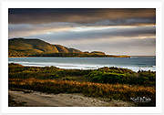 Late afternoon autumn light at Cloudy Bay [Bruny Island, Tasmania]<br />