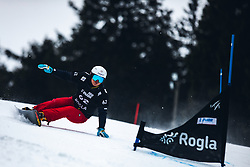 KIM Sangkyum (KOR) during FIS alpine snowboard world cup 2019/20 on 18th of January on Rogla Slovenia<br /> Photo by Matic Ritonja / Sportida