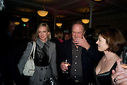 HERMIONE NORRIS; CHRISTOPHER CAZENOVE; ISABEL DAVIS. Book launch for the book by Julian Fellowes 'Past Imperfect.' Cadogan Hall. Sloane Terrace. London. 4 November 2008 *** Local Caption *** -DO NOT ARCHIVE -Copyright Photograph by Dafydd Jones. 248 Clapham Rd. London SW9 0PZ. Tel 0207 820 0771. www.dafjones.com