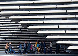 New V&A Museum on first weekend after opening in Dundee , Scotland, UK.