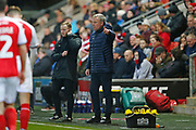 Kenny Jackett Manager of Portsmouth during the The FA Cup match between Fleetwood Town and Portsmouth at the Highbury Stadium, Fleetwood, England on 4 January 2020.