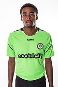 Forest Green Rovers Reece Brown during the 2018/19 official team photocall for Forest Green Rovers at the New Lawn, Forest Green, United Kingdom on 30 July 2018. Picture by Shane Healey.