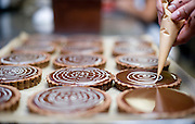An amazing quantity of beautifully crafted sweet treats come out of the kitchen at Guglhupf Bakery in Durham, NC.