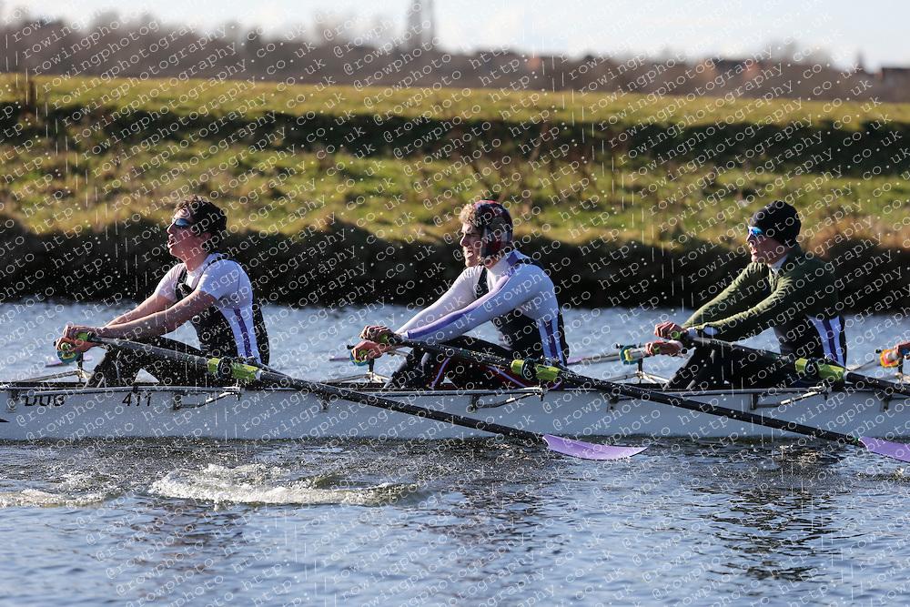 Durham University Boat Club. Championship Quad. BUCS Head 2012.