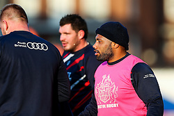 Jamal Ford-Robinson of Bristol Rugby looks on - Rogan Thomson/JMP - 21/01/2017 - RUGBY UNION - Cardiff Arms Park - Cardiff, Wales - Cardiff Blues v Bristol Rugby - EPCR Challenge Cup.