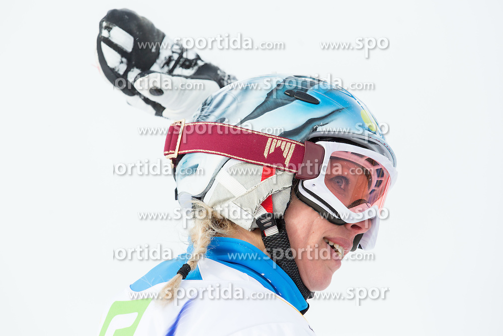 Marion Kreiner of Austria competes during 1/8 Finals of the Ladies' Parallel Giant Slalom at FIS World Championships of Snowboard and Freestyle 2015, on January 23, 2015 at the WM Piste in Lachtal, Austria. Photo by Vid Ponikvar / Sportida
