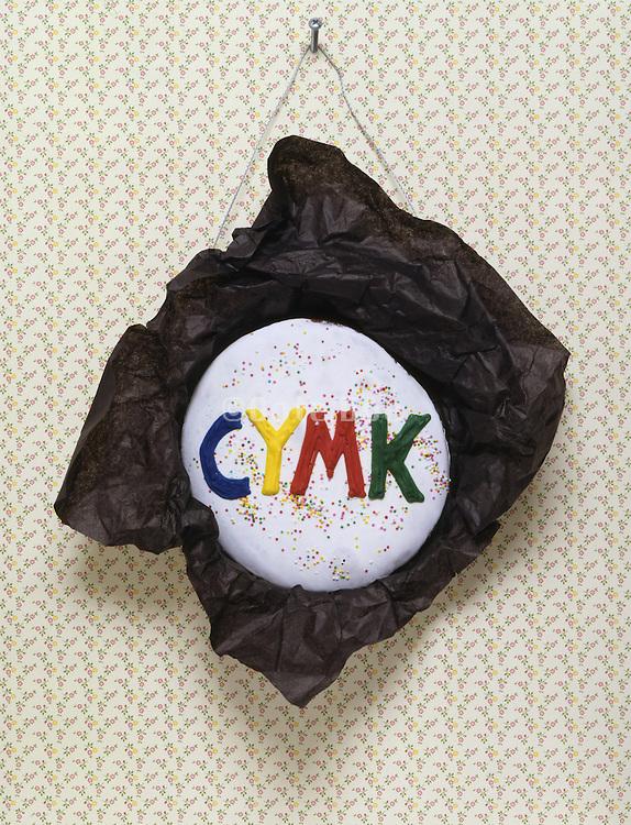 CYMK as wall decoration