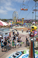 The San Diego County Fair at the Del Mar Fairgrounds.