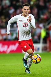 November 13, 2017 - Gdansk, Poland - Rafal Wolski (POL) during the International Friendly match between Poland and Mexico at Energa Stadium in Gdansk, Poland on November 13, 2017. (Credit Image: © Foto Olimpik/NurPhoto via ZUMA Press)