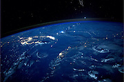 How aliens see us: Planet Earth, as viewed by International Space Station astronauts<br /> <br /> Tweeting from orbit has, it seems, become an important part of any self respecting astronaut's daily routine.<br /> But as these incredible images show, the results really are worth it. <br /> In a trend pioneered by Canadian ISS commander Chris Hadfield, new recruits are now tweeting regularly from orbit.<br /> Astronaut Reid Wiseman, who is currently aboard the station, is a prolific snapper, along with his German colleague Alexander Gerst. <br /> The pair have even developed their own styles, with Gerst preferring abstract patterns on the Earth's surface, while Wiseman favours storms and cities.<br /> Recently Gerst took part in a live Facebook Q&A to answer questions from people on Earth.<br /> One included Sir Richard Branson, who asked: 'What do you think the role of astronauts will be in 50 years' time? Pioneers? Guides? Or the norm?'<br /> Gerst responded: 'My hope would be that in 50 years from now, space travellers will not only be professional agency astronauts, but that everybody should have a realistic chance to make the incredible experience I am having right now.<br /> 'Anyway, I hope there will still be pioneers out there who will fly to destinations farther away.'<br /> <br /> Photo shows: Hello Florida: Astronaut Reid Wiseman, who is currently aboard the station, posted this photo to Twitter on Aug. 16, 2014 from the International Space Station with the caption, 'Hold on @BradPaisley, we don't usually like leaks at the launch pad ;) Here is Florida from the space station.'<br /> ©Reid Wiseman/Exclusivepix
