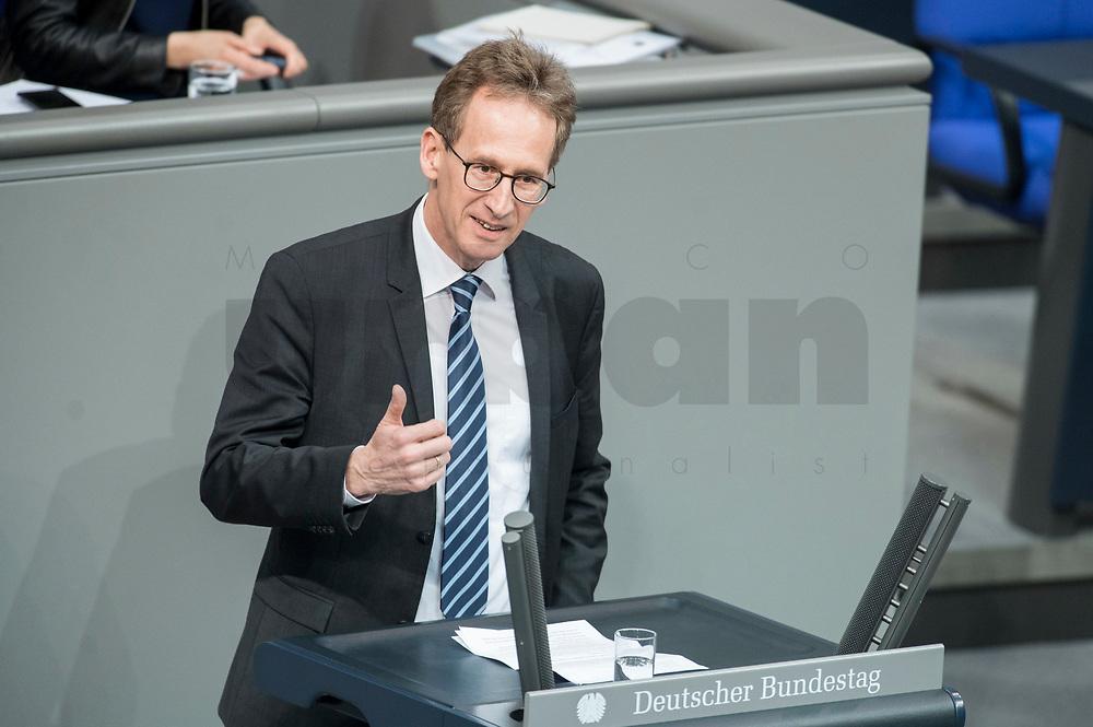 21 MAR 2019, BERLIN/GERMANY:<br /> Detlef Seif, MdB, CDU, haelt eine Rede, Bundestagsdebatte zur Regierungserklaerung der Bundeskanzlerin zum Europaeischen Rat, Plenum, Deutscher Bundestag<br /> IMAGE: 20190321-01-126