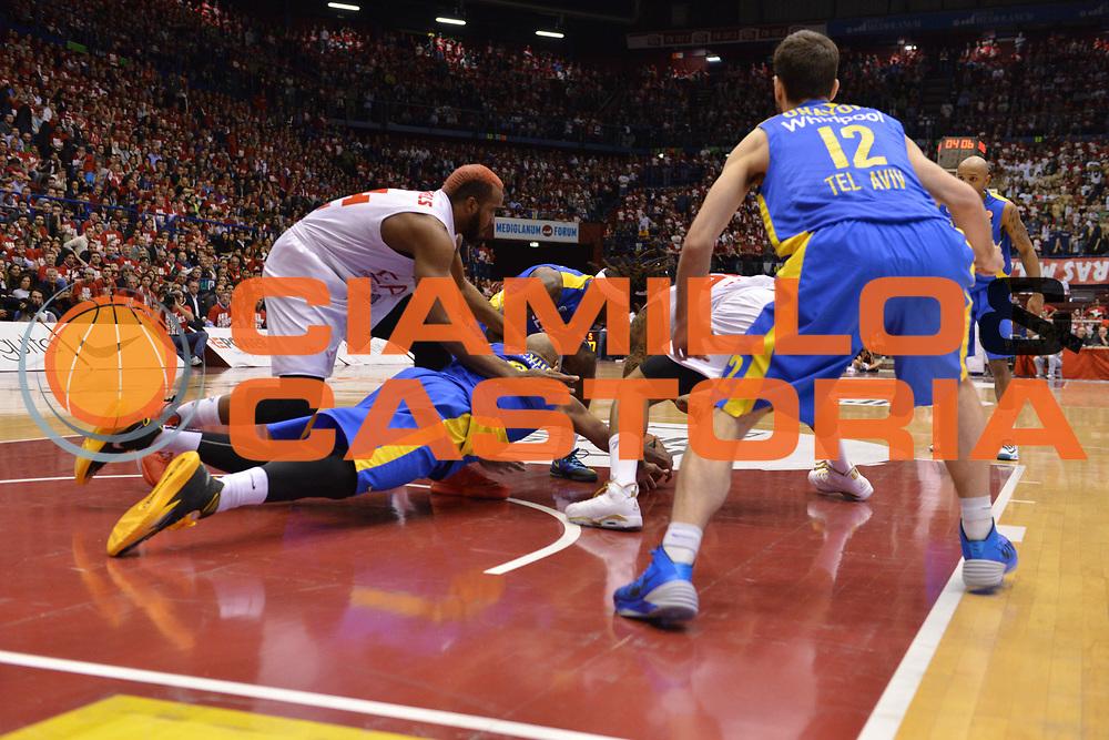 DESCRIZIONE : Milano Euroleague Playoffs EA7 EMPORIO ARMANI OLIMPIA MILANO - MACCABI ELECTRA TEL-AVIV <br /> GIOCATORE : Samardo Samuels<br /> CATEGORIA : RIMBALZI COMPOSIZIONE&nbsp;<br /> SQUADRA : EA7 EMPORIO ARMANI OLIMPIA MILANO<br /> EVENTO : Campionato Euroleague Playoffs<br /> GARA : EA7 EMPORIO ARMANI OLIMPIA MILANO - MACCABI ELECTRA TEL-AVIV  <br /> DATA : 16/04/14 <br /> SPORT : Pallacanestro <br /> AUTORE : Agenzia Ciamillo-Castoria/L.sonzogni <br /> Galleria : Euroleague Playoffs