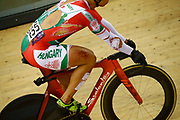 Men Keirin, Sandor Szalontay (Hungary) after crash, injury, during the Track Cycling European Championships Glasgow 2018, at Sir Chris Hoy Velodrome, in Glasgow, Great Britain, Day 6, on August 7, 2018 - Photo luca Bettini / BettiniPhoto / ProSportsImages / DPPI<br /> - Restriction / Netherlands out, Belgium out, Spain out, Italy out -