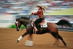 Young Van Osch Rieky (NED) - Burnt Starlight<br /> Alltech FEI World Equestrian Games <br /> Lexington - Kentucky 2010<br /> © Dirk Caremans