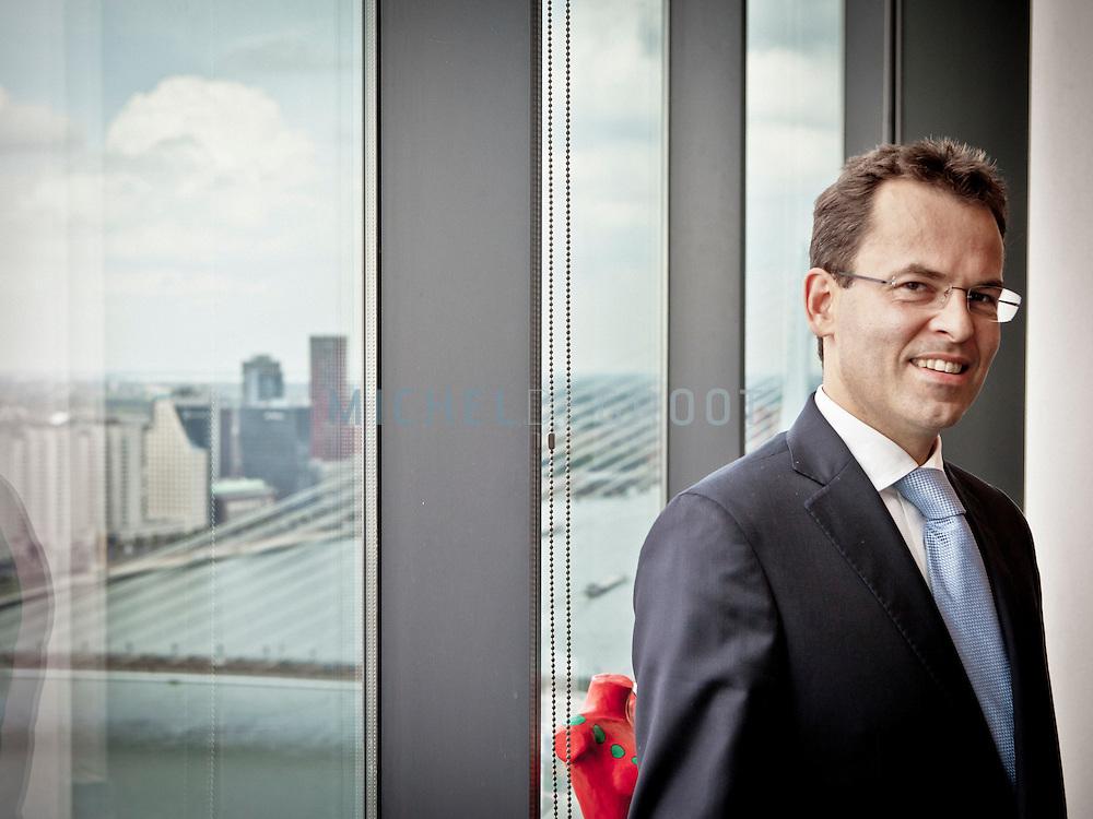 Guido Dubbeld, de nieuwe CFO van energiebedrijf Eneco