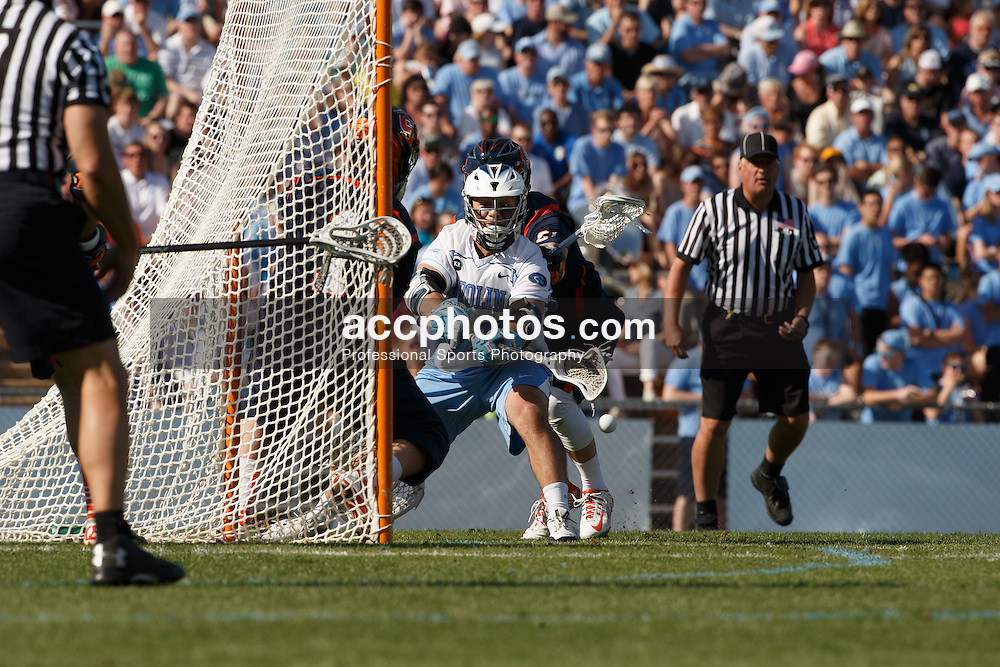 CHAPEL HILL, NC - APRIL 11: Peyton Klawinski #42 of the North Carolina Tar Heels plays against the Syracuse Orange on April 11, 2015 at Fetzer Field in Chapel Hill, North Carolina. North Carolina won 17-15. (Photo by Peyton Williams/US Lacrosse/Getty Images) *** Local Caption *** Peyton Klawinski