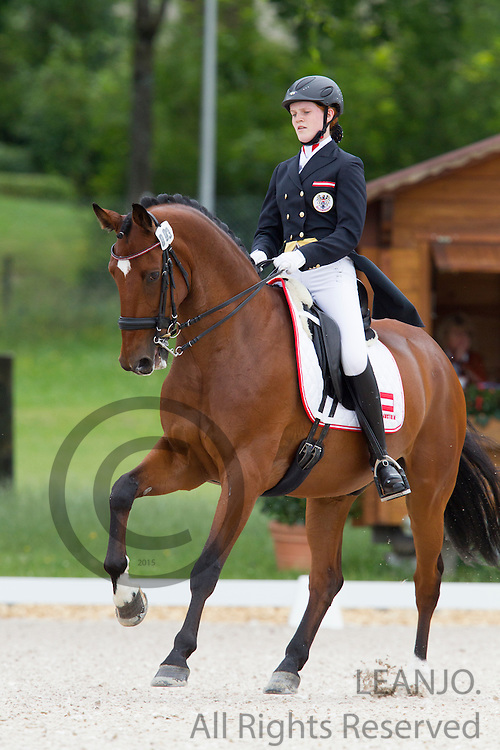 Kristina Sober - Perfect Illusion SJP<br /> FEI European Championships Dressage Juniors and Young Riders 2012<br /> © DigiShots