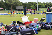 England kit during the England training session ahead of the 4th ODI, at Pallekele International Cricket Stadium, Pallekele, Sri Lanka on 19 October 2018.