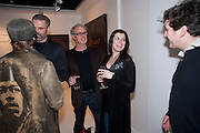 JEFF KROLL; MICHELLE GRIFFIN, Mark Evans private view. Scream Gallery. Bruton st. London. 19 March 2010