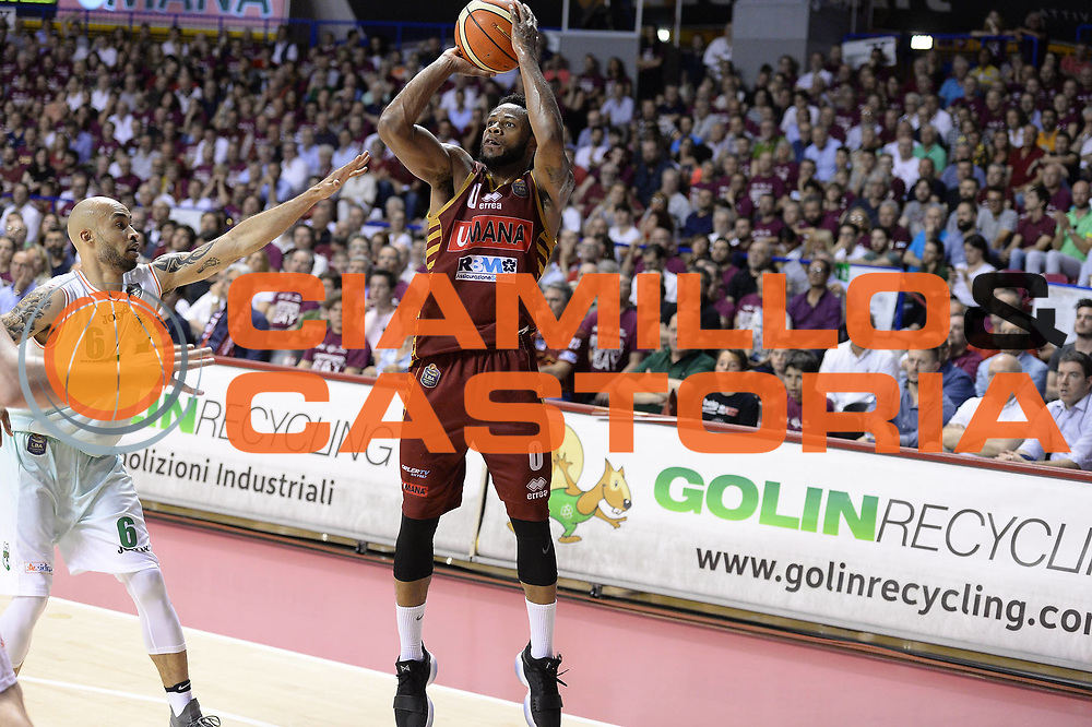 Haynes Marquez<br /> Umana Reyer Venezia - Sidigas Avellino<br /> Lega Basket Serie A 2016/2017<br /> Palyoff Semifinale Gara 1<br /> Venezia 26/05/2017<br /> Foto Ciamillo-Castoria