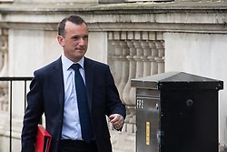 London, UK. 23rd April 2019. Alun Cairns MP, Secretary of State for Wales, arrives in Downing Street for the first Cabinet meeting since the Easter recess.