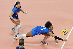 ITALY VALENTINA DIOUF <br /> ITALY - BRASIL <br /> VOLLEYBALL WOMEN'S WORLD CHAMPIONSHIP 2014<br /> MILAN (ITA) 12-10-2014<br /> PHOTO BY FILIPPO RUBIN