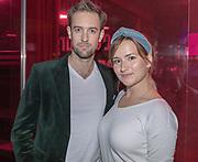 2018, September 24. Schouwburg Amstelveen. Premiere van Kunst en Kitsch. Op de foto: Barbara Sloesen en Jonathan Demoor