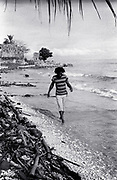 Burning Spear on the Beach at St Ann's Bay Jamaica 1978