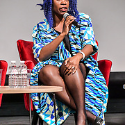 Speakers Jacqueline Shaw at The Business of African Fashion at WISH Africa Expo, a showcase of Pan-Africanism at Olympia Conference Centre on 9 June 2019, London, UK.