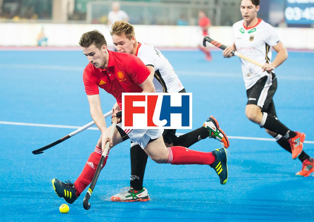 BHUBANESWAR - The Odisha Men's Hockey World League Final . Match ID 01 . Germany v England (2-0). Liam Ansell (Eng) .  .WORLDSPORTPICS COPYRIGHT  KOEN SUYK