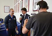 Conferenza stampa per la presentazione del campionato Under 20 che si terr&agrave; a Lignano Sabbiadoro<br /> Nella foto: Pino Sacripanti<br /> Agenzia Ciamillo/Castoria