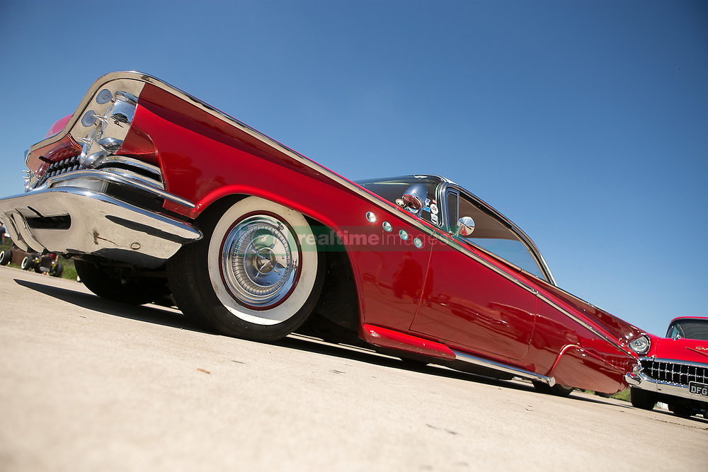 March 23, 2019 - Sao Paulo, Brazil - Classic car is seen at expo that gathers collectors and fanatics at the Campo de Marte airport in the north of Sao Paulo (Credit Image: © Dario Oliveira/ZUMA Wire)