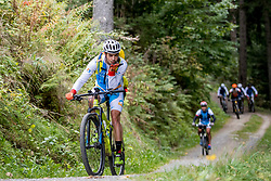 13-09-2017 FRA: BvdGF Tour du Mont Blanc day 4, Trient<br /> Van Chamonix naar Trient / Gorka